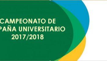 Campeonatos de España Universitarios 17/18