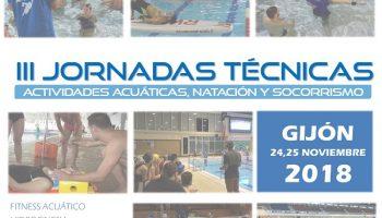 III Jornadas Técnicas de Actividades Acuáticas, Natación y Socorrismo