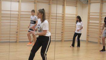 Taller de Baile en nuestro campus universitario