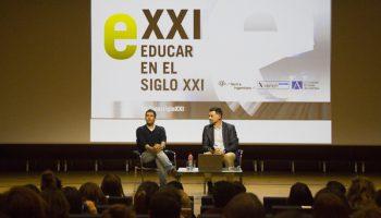 Recibimos a César Bona en el Día Mundial de la Educación