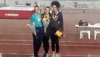 Lara Gómez subcampeona de España sub-23 en 60ml