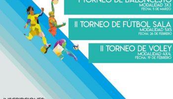 Ya puedes apuntarte a los Torneos deportivos de la Universidad Europea del Atlántico