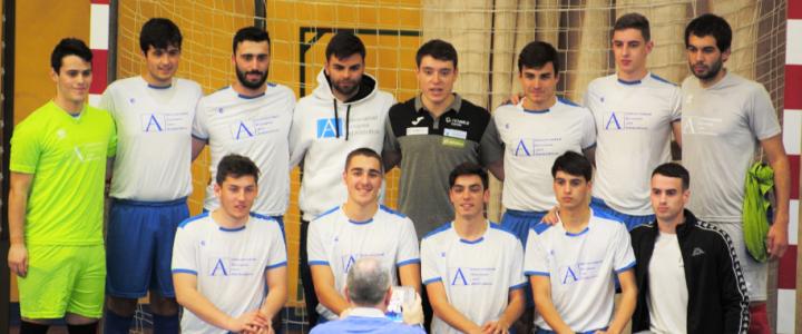 UNEATLANTICO VS UC en la fase previa del Campeonato de España Universitario de Fútbol Sala