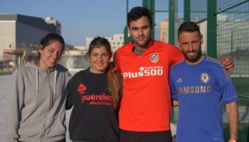 C. Peña y S. Abascal / R. Pedrero y O. Oria ganadores del III Torneo de Pádel UNEATLANTICO