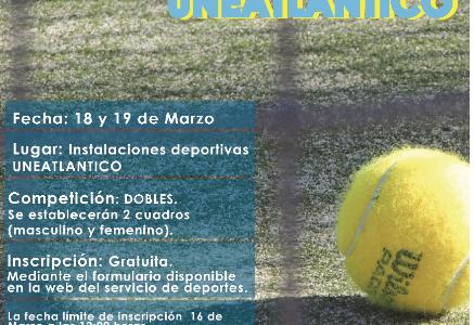 III Torneo de Pádel UNEATLANTICO