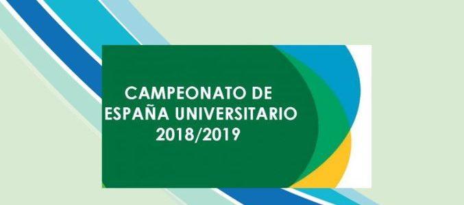Deportistas UNEATLANTICO en los Campeonatos de España Universitarios 2019