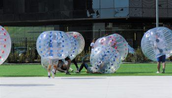 """""""BUBBLE SAFD"""" campeones del I Torneo de Fútbol Burbuja UNEATLANTICO"""