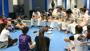 SAFD UNEATLANTICO firma un convenio con la Asociación Cultural Capoeira Santander