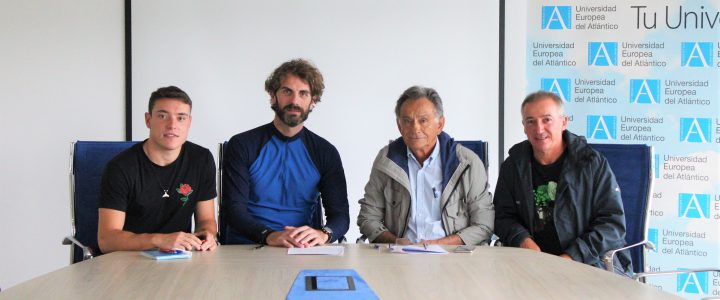 SAFD UNEATLANTICO firma un convenio con Sardinero Hockey Club
