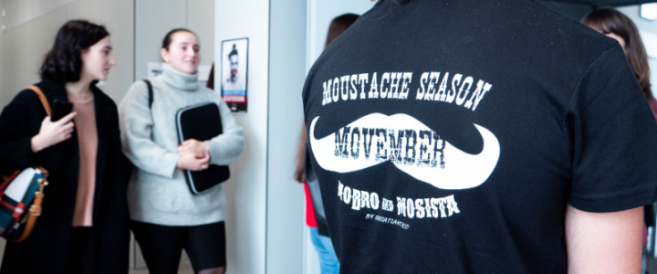 Movember en el campus de UNEATLANTICO