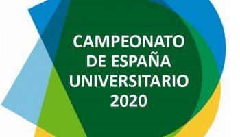 Abierto el plazo de solicitud de participación en los Campeonatos de España Universitarios 2020