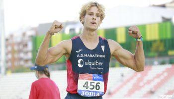Bruno Comín, campeón de España absoluto y récord regional sub23 en decathlon